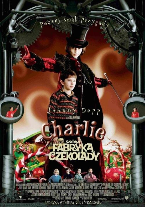 charlie i fabryka czekolady cały film online